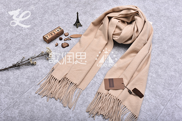 300 grams of flowers(Beige wild warm long scarf)