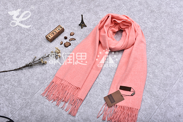 300 grams of flowers(Watermelon Red Trendy Simple Long Scarf)