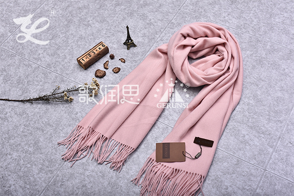 300 grams of flowers(Pink trendy wild thermal scarf)
