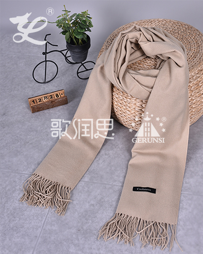 250 carat hair(Khaki stylish wild thermal scarf)